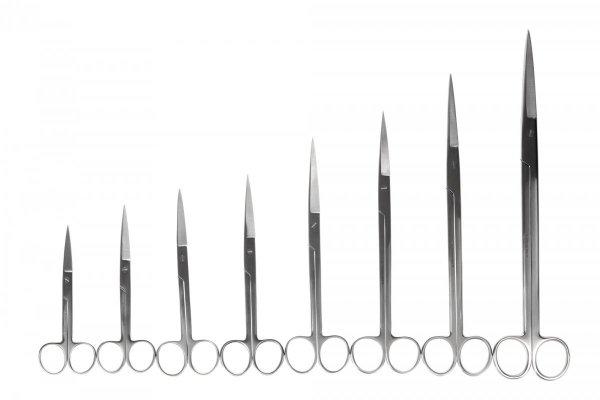 Nożyczki Akwarystyczne Proste 9 Cm Do Mchów Precyzyjne