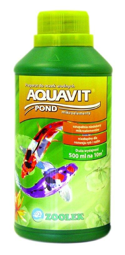 Zoolek Aquavit Pond Oczko Wodne 500Ml Biopierwiastki