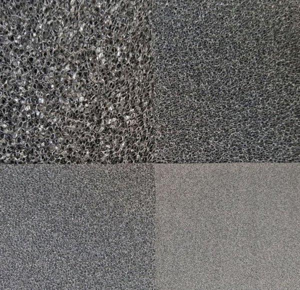 Wkład Filtracyjny Gąbka 25X25X1 20Ppi CZARNA