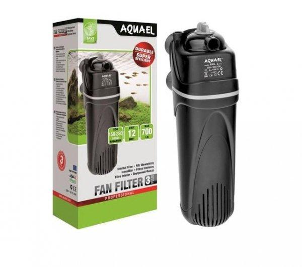 Aquael Filtr Wewnętrzny Fan-3 Plus 700L/H 3xGąbka Zeolit