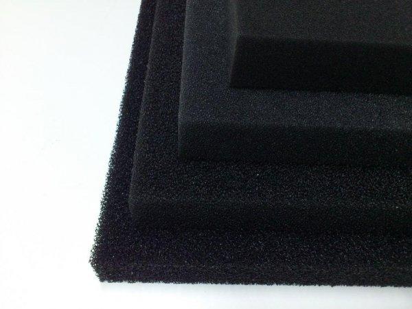 Wkład Filtracyjny Gąbka 25X25X1 10Ppi CZARNA