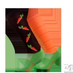 Podkolanówki jeździeckie COMODO marchewki