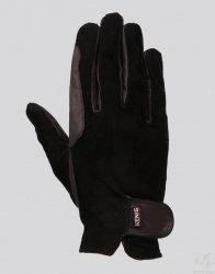 KENIG Rękawiczki Champion,perforowane,czarne