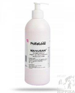 MANUSAN 500ml - preparat antybakteryjny z dozownikiem PolfaŁódź