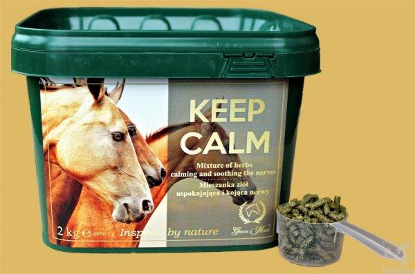 Green Horse KEEP CALM