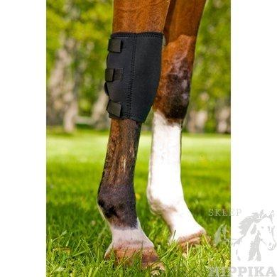 Ochraniacz, orteza na prawy nadgarstek konia. Back On Track, Knee Boot, Right