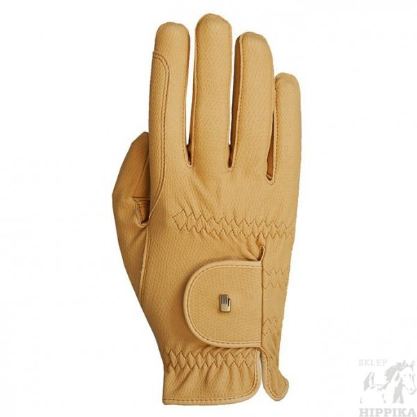 Rękawiczki ROECKL Grip, beż r. 7,5