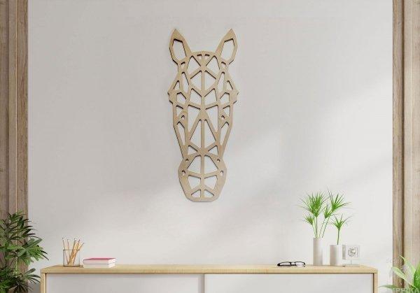 Ażurowa dekoracja - głowa konia