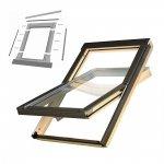 KOMPLET: Okno dachowe OPTILIGHT 78x140 B + KOŁNIERZ