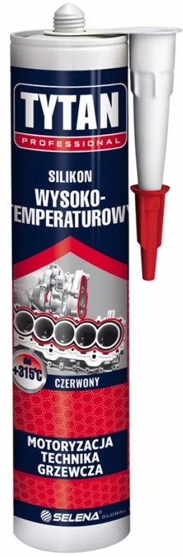 TYTAN SILIKON WYSOKOTEMPERATUROWY 280 ml