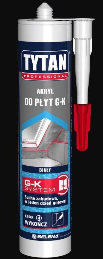 TYTAN Akryl do płyt G-K biały 280ml