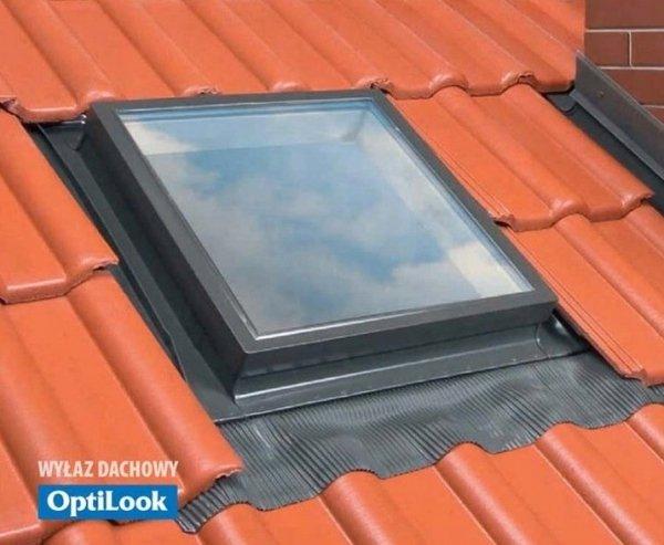 Wyłaz Dachowy DWUSZYBOWY OPTILOOK T 46x75+KOŁNIERZ     ---WYSYŁKA GRATIS---