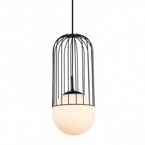 ITALUX MATTY MDM-3940/1 BK LAMPA WISZĄCA DRUCIANA CZARNA