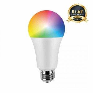 Żarówka LED Wi-FI A60 8W E27 Smart Tuya RGB+CCT+DIM