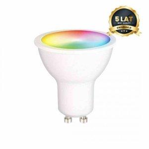 Żarówka LED Wi-FI GU10 5W Smart Tuya RGB+CCT+DIM