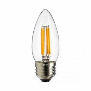 Żarówka Filamentowa LED 4W C37 E27 4000K