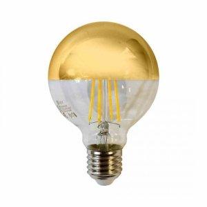 Żarówka Filamentowa LED 5,5W G80 E27 GOLD