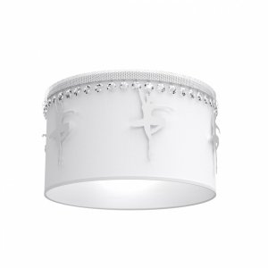 Lampa sufitowa BALETNICA WHITE 1xE27