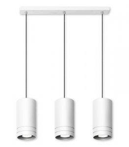 Lampa wisząca Simon 3L biała