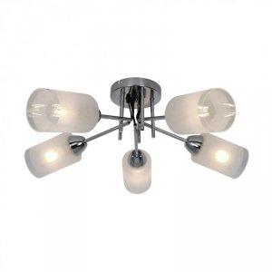 CL20007-5 MEDA LAMPA SUFITOWA CHROM&BIAŁY/CHROME&WHITE