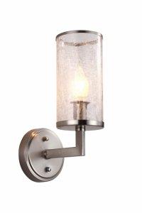 LAMPA ŚCIENNA KINKIET SATYNOWY HOWARD W1