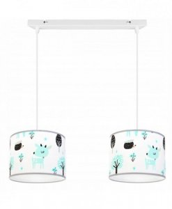 Lampa abażur dziecięca - BAMBI 2265/2/L