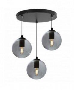 Lampa sufitowa ze szklanymi kloszami - PARIS 2290/3/OW