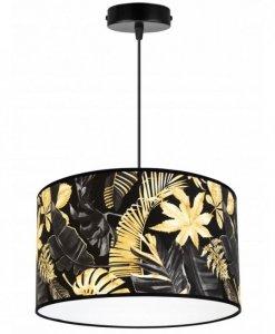 Lampa abażur wzór kwiaty - GOLD FLOWERS 2300/1/35