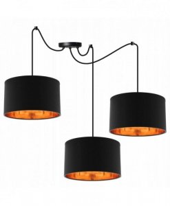 Lampa wisząca z abażurami - SPIDER SHADE 2085/3/35