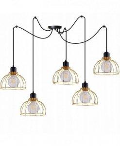 Lampa wisząca ze szklanymi kloszami - SPIDER MOBI 2180/5