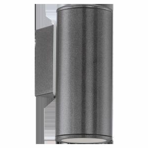 EGLO RIGA 94102 KINKIET ZEWNĘTRZNY TUBA LED ANTRACYT
