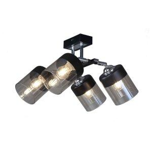 ZUMA LINE CL19020-4-BL PORTO LAMPA SUFITOWA CZARNA