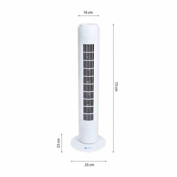 """Wentylator stojący EKO-LIGHT 29"""" Tower Biały"""