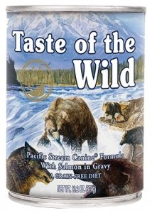 Taste of the Wild Pacific Stream Canine z mięsem z łososia puszka 390g