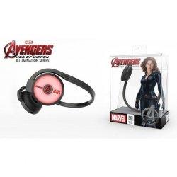 Słuchawki bezprzewodowe z mikrofonem E-Blue Avengers Black Widow EBT932BK czarno -czerwone