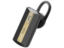 Słuchawka z mikrofonem Philips SHB1202/10 Bluetooth z uchwytem czarno-złota