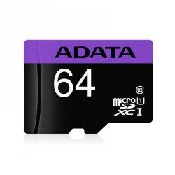 Karta pamięci ADATA microSDXC Premier 64GB UHS-I Class 10 + adapter