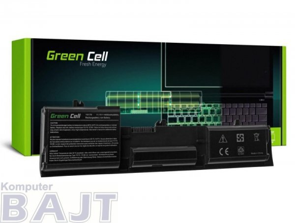 Bateria Green Cell do Dell Latitude D410 6 cell 11,1V