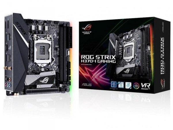 Płyta Asus PRIME ROG STRIX H370-I GAMING V1.2 /H370/DDR4/SATA3/USB3.0/M.2/WIFI/PCIe3.0/s.1151/mITX