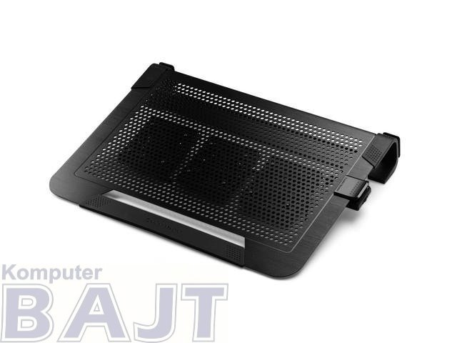 Podstawka pod notebooka Cooler Master Notepal U3 PLUS Black