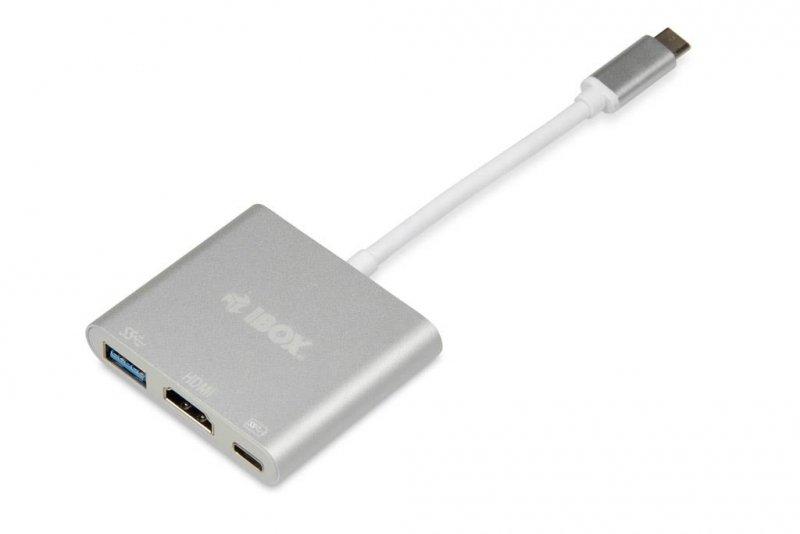 Hub USB 3.1 Gen 2 iBOX IUH3CFT1