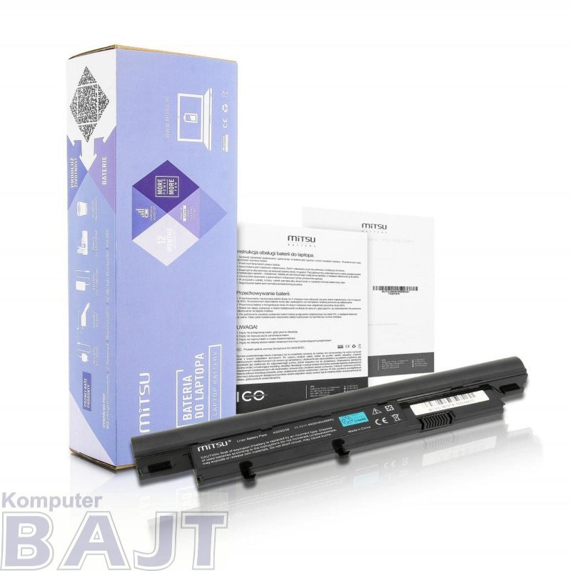 Bateria Mitsu do notebooka Acer Aspire 3810T, 4810T, 5810T (10.8V-11.1V) (4400 mAh)