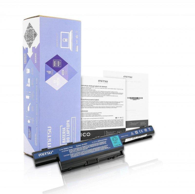 Bateria Mitsu do notebooka Acer Aspire 4551, 4741, 5741