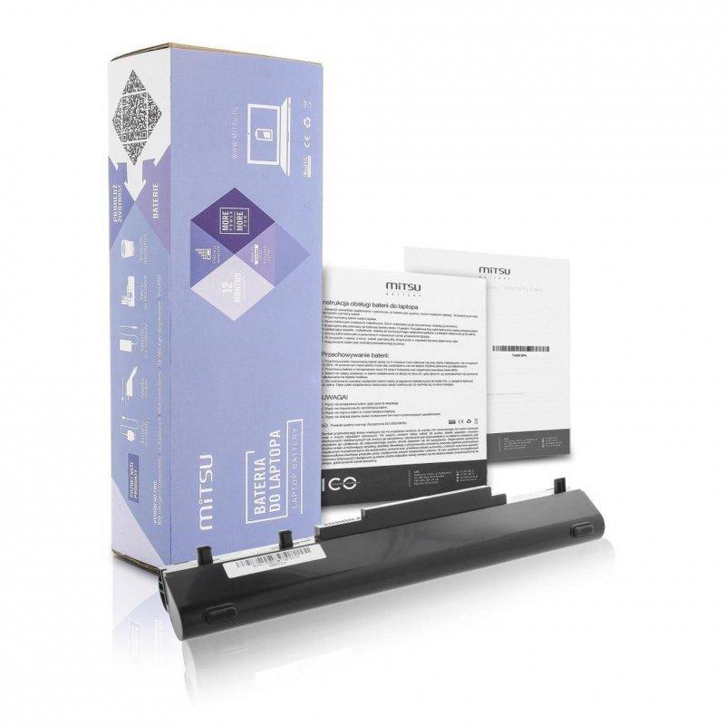 Bateria Mitsu do notebooka Acer TM8372, 8481G (14.4V-14.8V) (4400 mAh)