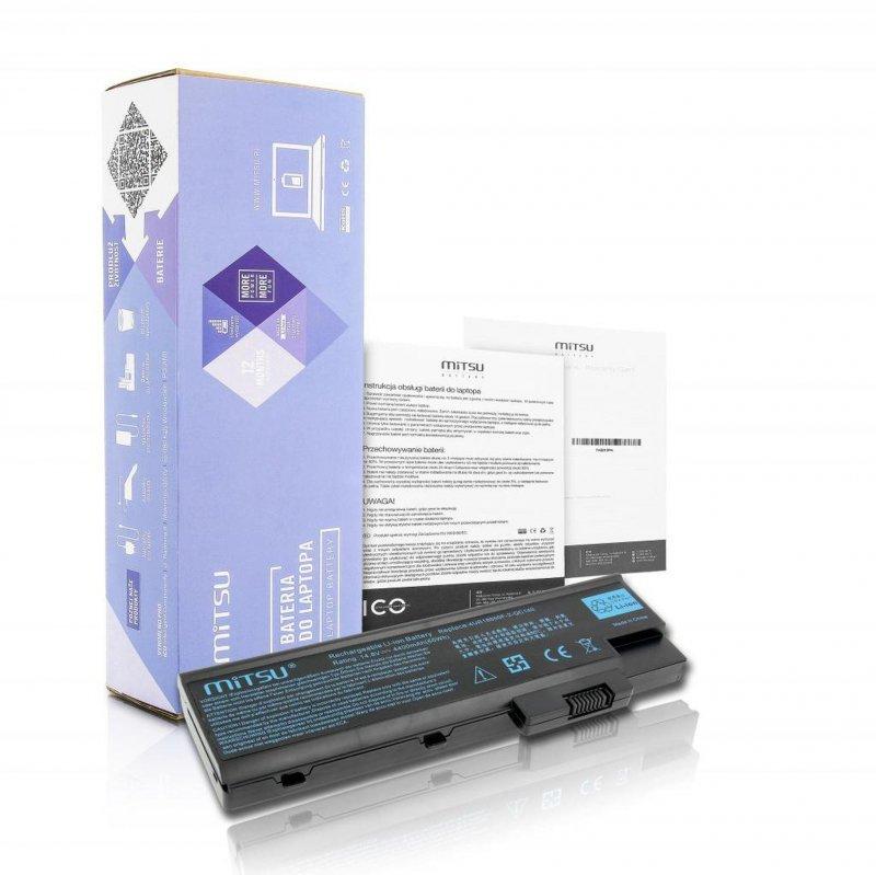 Bateria Mitsu do notebooka Acer TM2300, Aspire 1680 (14.4V-14.8V) (4400 mAh)