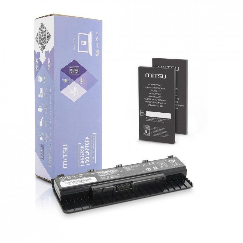 Bateria Mitsu do notebooka Asus G551, G551J, G551JM