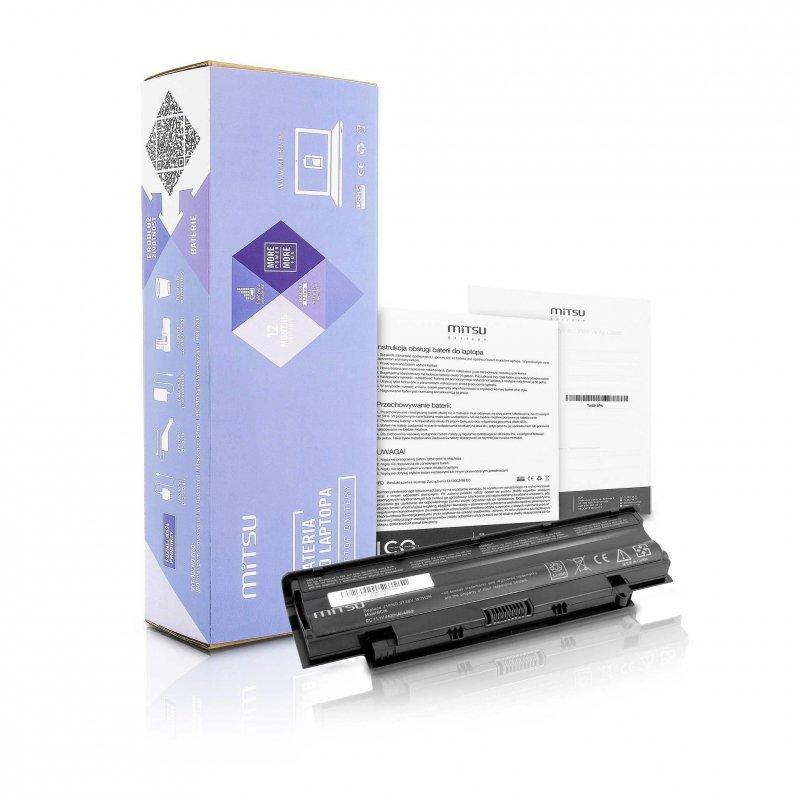 Bateria Mitsu do notebooka Dell 13R, 14R, 15R (10.8V-11.1V) (4400 mAh)