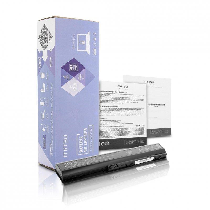 Bateria Mitsu do notebooka HP dv9000, dv9200, dv9500 (14.4V-14.8V) (4400 mAh)