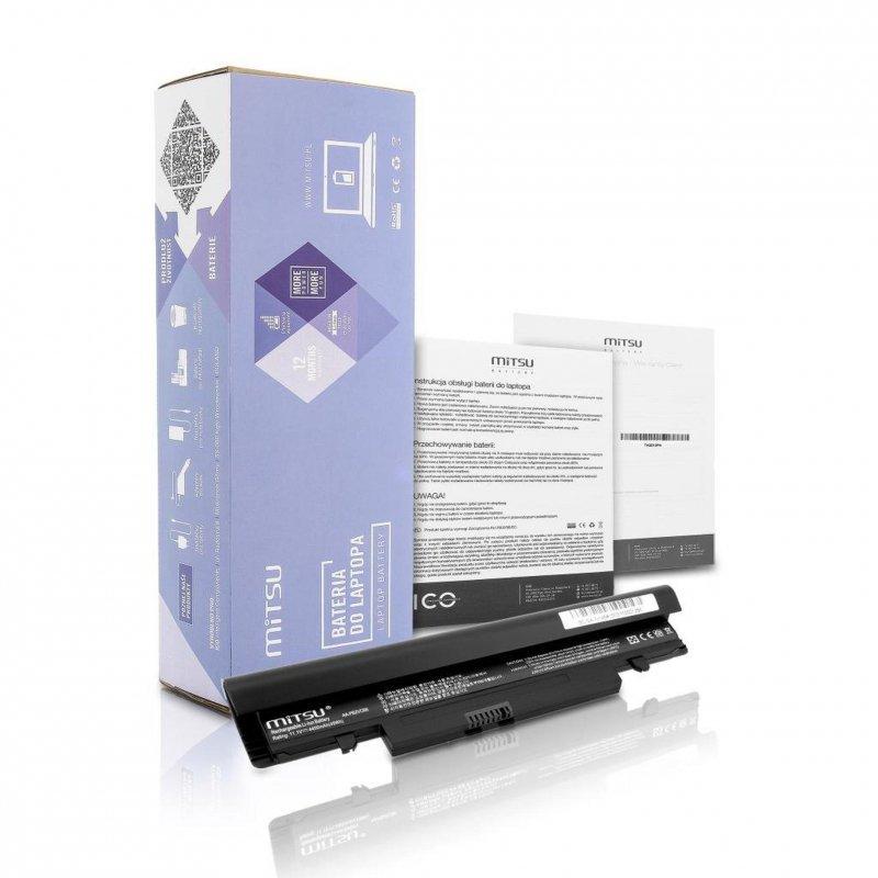 Bateria Mitsu do notebooka Samsung N148, N150 (10.8V-11.1V) (4400 mAh)