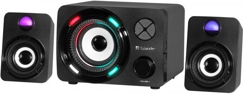 Głośniki Defender G11 2.1 11W USB Bluetooth LED